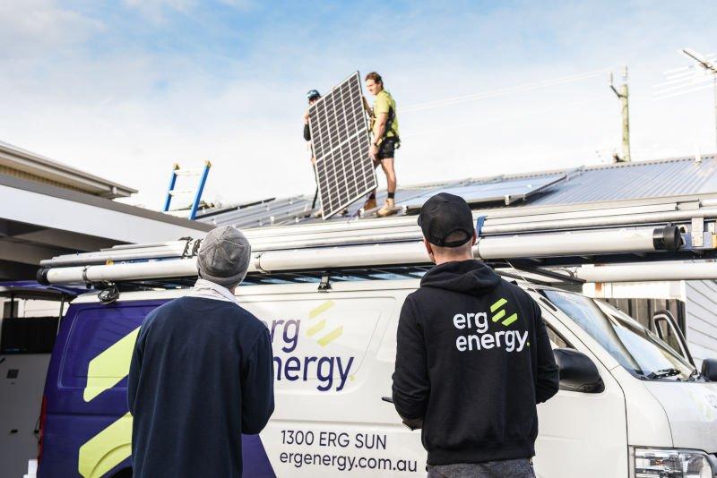 Solar System Installation by ERG Energy