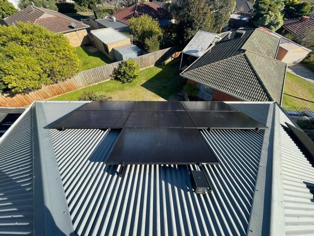 solar panel installation bayside